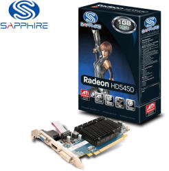 SAPPHIRE Radeon HD 5450 1GB GDDR3 64bit PCIe (11166-02-20R)