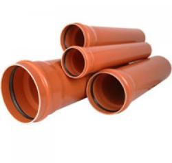 Valplast TEAVA CANAL PVC CU MUFA SN2 D=125x2, 5 L=3m