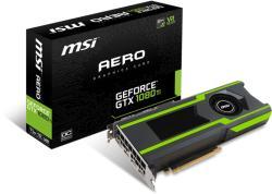 MSI GeForce GTX 1080 Ti 11GB GDDR5X 352bit PCIe (GTX 1080 Ti AERO 11G OC)