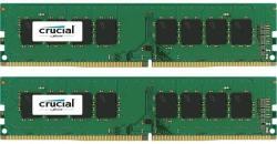 Crucial 8GB (2x4GB) DDR4 2400MHz CT2K4G4DFS824A