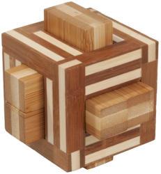Fridolin Joc logic IQ din lemn bambus Double sticks (Fr_17496) - mansardacopiilor