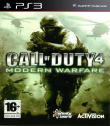 Activision Call of Duty 4 Modern Warfare (PS3)