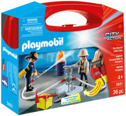 Playmobil Tűzoltás mesterfokon szett (5651)