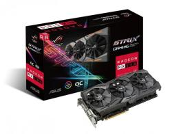 ASUS Radeon RX 580 OC 8GB GDDR5 256bit PCIe (ROG-STRIX-RX580-O8G-GAMING)