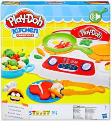 Hasbro Play-Doh: Kitchen Creations - Sistergő Tűzhely gyurmaszett (B9014)