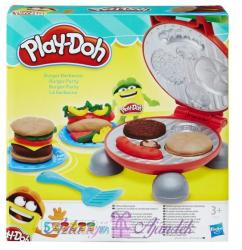 Hasbro Play-Doh: Burger Barbecue party gyurmaszett (B5521)