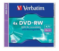 Verbatim DVD-RW 4.7GB 4x