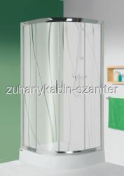 Sanplast KP4-kpl/TX5b 100x100 cm zuhanytálcával íves