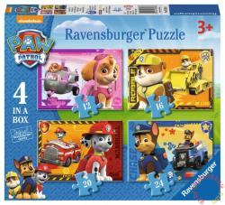 Ravensburger Mancs őrjárat 4 az 1-ben 12,16,20,24 db-os (07033)