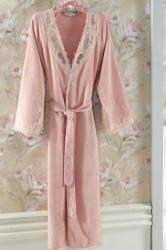 28 740 Ft Soft Cotton DESTAN elegáns női fürdőköpeny ajándékcsomagban S  Mályva   Dusty rose 9e550e9ade