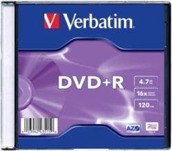 Verbatim DVD+R 4.7GB 16x AZO