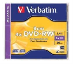 Verbatim Mini DVD+RW 1.4GB 4x (DVDVU+48CM)