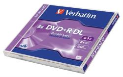 Verbatim DVD+R 8.5GB 8x - Dual Layer