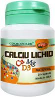Cosmo Pharm Calciu lichid 30cps COSMOPHARM