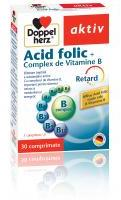 Doppelherz Acid folic +complex de vitamine b 30cpr DOPPEL HERZ