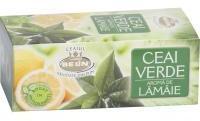 Belin Ceai verde cu aroma de lamaie 20plicuri BELIN