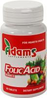 Adams Supplements Acid folic 30tbl ADAMS SUPPLEMENTS