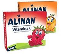 Fiterman Pharma Alinan vitamina c kids aroma zmeura 20cpr FITERMAN