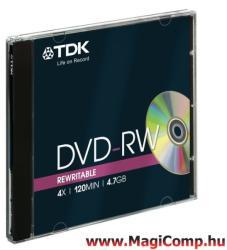 TDK DVD-RW 4.7GB 4x