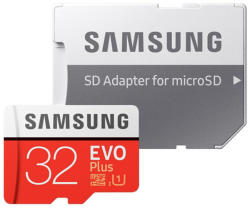 Samsung microSDHC EVO Plus 32GB C10/UHS-I MB-MC32GA