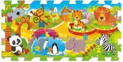 Trefl Oktató szivacs puzzle - Az állatkertben 8 db-os (60695)