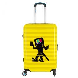 BG Berlin Caveman M - közepes bőrönd