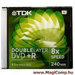 TDK DVD+R 8.5GB 8x - Dual Layer