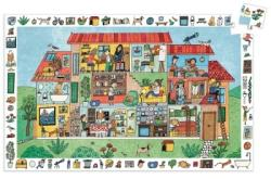 DJECO A ház 35 db-os megfigyelő puzzle (7594)