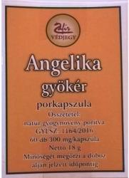 Zafír Angelika gyökér porkapszula 60db