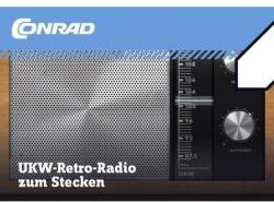 Conrad Retro URH rádió építőkészlet (10196)