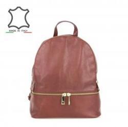 25 300 Ft Made in Italy Trendi bőr hátizsák Bruna - barna 1cde78b8c4