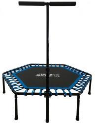 AGA Fitness trambulin kapaszkodóval 130cm