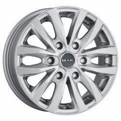 Mak Load 6 Silver CB84.1 6/130 16x6.5 ET62