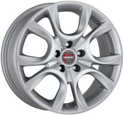 Mak Torino Silver CB58.1 5/98 16x6.5 ET39