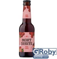 Mort Subite Lambic belga meggyes sör 0, 25 l üveges