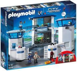Playmobil Sediu De Politie Cu Inchisoare PM6919