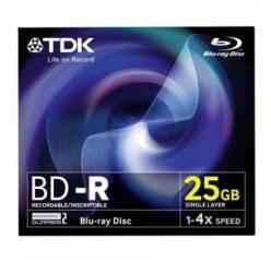 TDK Blu-Ray BD-R 25GB 4x
