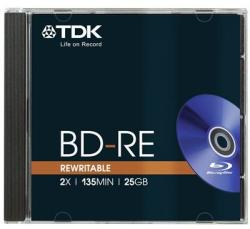 TDK Blu-Ray BD-RE 25GB 2x (BRD-TDKRW25)