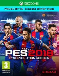 Konami PES 2018 Pro Evolution Soccer [Premium Edition] (Xbox One)