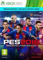 Konami PES 2018 Pro Evolution Soccer [Premium Edition] (Xbox 360)