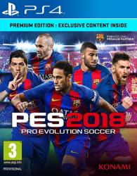 Konami PES 2018 Pro Evolution Soccer [Premium Edition] (PS4)