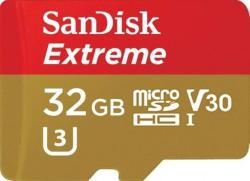 SanDisk MicroSDHC Extreme 32GB Class 10 A1 SDSQXAF-032G-GN6AA