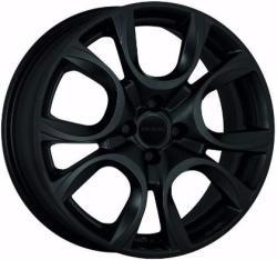 Mak Torino Matt Black CB58.1 4/98 16x6.5 ET35