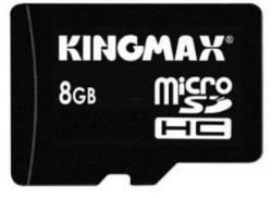KINGMAX MicroSDHC 8GB Class 4 KM08GMCSDHC4