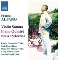 ALFANO, F Violin Sonata/piano Quint