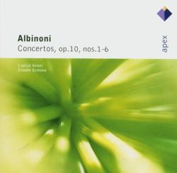 Albinoni, T Concertos Op. 10 No. 1-6