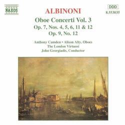 Albinoni, T Oboe Concerti Vol. 3