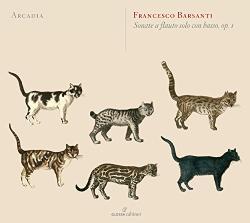 Barsanti, F Sonate A Flauto Solo Con