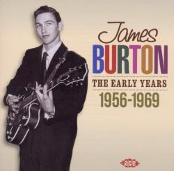 Burton, James Early Years 1957-1969