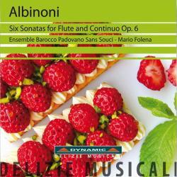 Albinoni, T Six Sonatas For Flute